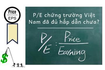 P/E chứng trường Việt Nam đã đủ hấp dẫn chưa?