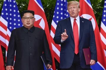 Trump đổi giọng, gọi Triều Tiên là 'mối đe dọa phi thường'