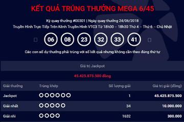 Thêm vé số ở TP HCM trúng Jackpot 45 tỷ đồng