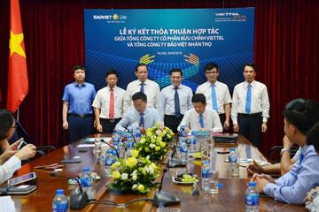 Bảo Việt Nhân Thọ ký thỏa thuận hợp tác với Bưu chính Viettel