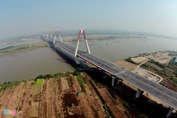 Xây cầu Nhật Tân chậm tiến độ, Hà Nội vay hơn 200 tỷ trả tiền đội vốn