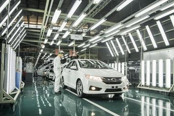 Ô tô dù tăng trưởng cao, lợi nhuận của Thaco và Toyota vẫn nhỏ bé khi đặt cạnh mức lãi 16.000 tỷ đồng của Honda Việt Nam
