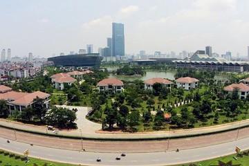Đề xuất xây bể bơi, sân tennis trong khu biệt thự Trung tâm hội nghị Quốc gia