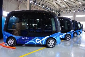 'Đội quân' 100 xe buýt tự động của Baidu ở Trung Quốc