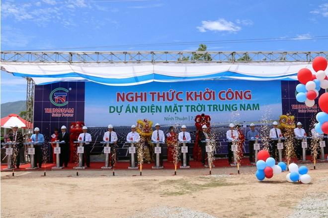 Đầu tư 5.000 tỷ đồng xây nhà máy điện Mặt Trời tại Ninh Thuận