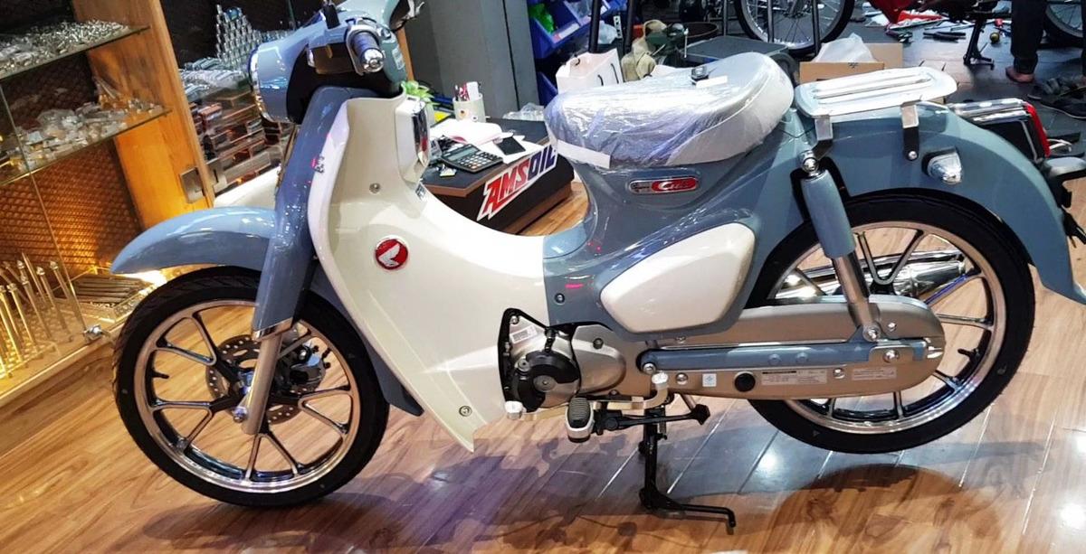 Honda Super Cub C125 2018 đầu tiên về Việt Nam