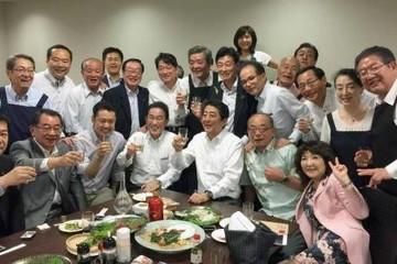 Thủ tướng Nhật bị chỉ trích vì tổ chức tiệc giữa cảnh báo mưa lũ