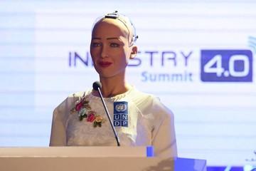 Robot Sophia: Việt Nam là hình mẫu cho thế giới noi theo trong ứng dụng công nghệ