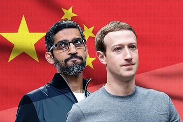 Facebook, Google đối mặt nguy cơ dính đòn từ cuộc chiến thương mại Mỹ - Trung