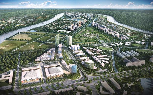 Nam Long cùng đối tác Nhật phát triển 165ha khu đô thị Waterpoint