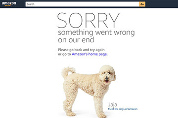 Website Amazon 'sập' trong đợt siêu giảm giá
