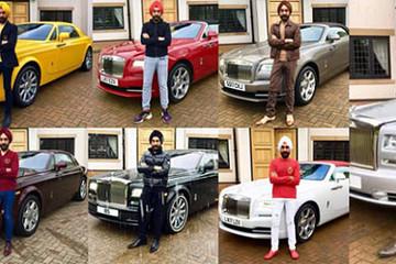 Tỷ phú tậu 7 chiếc Rolls-Royce để đi mỗi ngày trong tuần