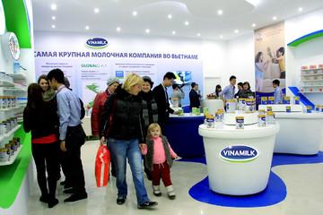 Vinamilk là công ty sữa duy nhất lọt danh sách doanh nghiệp xuất khẩu uy tín năm 2017