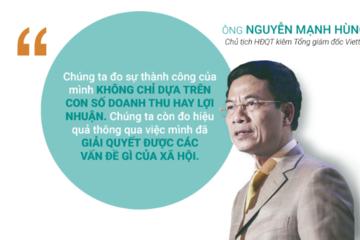 Ông Nguyễn Mạnh Hùng, vị thuyền trưởng truyền cảm hứng của Viettel