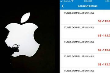 Hàng loạt người dùng iOS ở Singapore bị mất tiền vô cớ