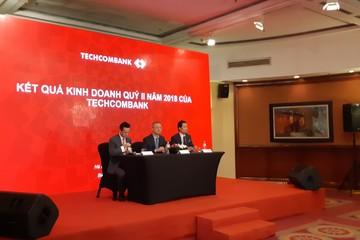 Techcombank báo lãi 5.196 tỷ đồng, thu nhập bình quân 28 triệu đồng/nhân viên