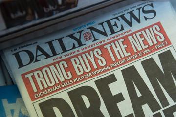 Không cạnh tranh được báo điện tử, tờ báo Mỹ sa thải 50% nhân viên