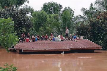 Chính phủ Việt Nam hỗ trợ Lào 200.000 USD sự cố vỡ đập thủy điện