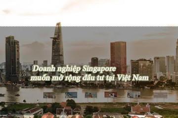 Vốn Singapore vào Việt Nam sẽ tăng trong 2 năm tới