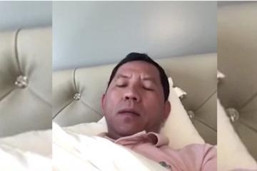 Tổng giám đốc Sky Mining đăng video tuyên bố đi chữa bệnh