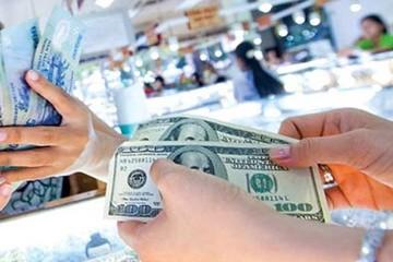 Tỷ giá trung tâm tiếp tục tăng, USD tự do giữ mức 23.450 đồng