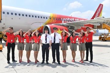 Vietjet: Lợi nhuận vận tải hàng không tăng 53% nhờ đường bay quốc tế