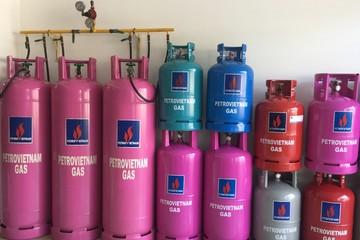 Giá gas tăng 11.000 đồng mỗi bình 12 kg