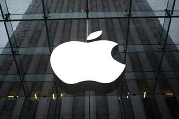 Apple thành công ty Mỹ đầu tiên có vốn hóa thị trường 1.000 tỷ USD