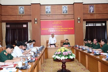 Bộ Chính trị kiểm tra đối với Ban Thường vụ Quân ủy TW