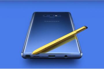 Samsung định bán riêng bút của Galaxy Note 9