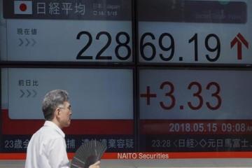 Chứng khoán châu Á đi lên bất chấp căng thẳng thương mại