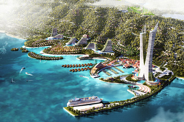 Quảng Ninh phê duyệt quy hoạch tòa tháp biểu tượng 88 tầng tại Vân Đồn