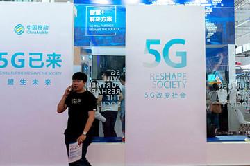Mỹ bị Trung Quốc bỏ xa trong cuộc đua mạng 5G