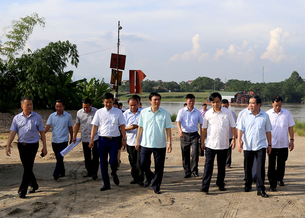 Phú Thọ - Vĩnh Phúc bắt tay xây cầu qua sông Lô