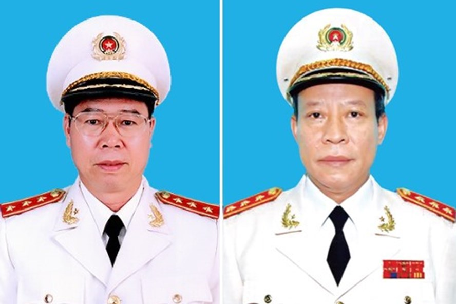Bổ nhiệm 2 Thứ trưởng Công an đứng đầu hai cơ quan điều tra