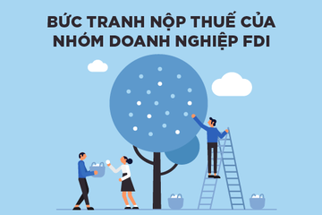 [Infographic] Bức tranh thuế TNDN của nhóm doanh nghiệp FDI