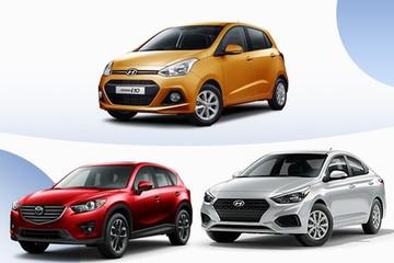10 ôtô bán chạy nhất Việt Nam tháng 7