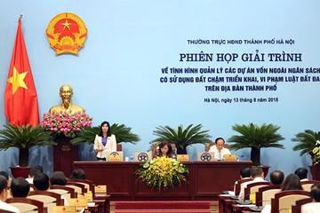 Hà Nội sẽ thu hồi 47 dự án chậm triển khai, vi phạm Luật Đất đai