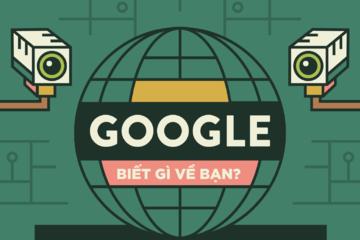 [Infographic] Google biết gì về bạn?
