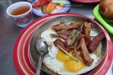 Bánh mỳ trứng Việt Nam lọt top bữa sáng ngon thế giới