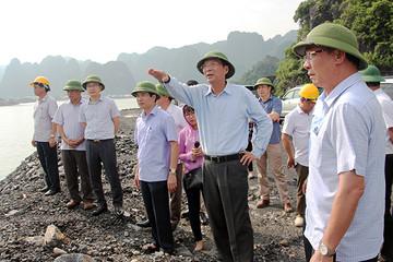 Quảng Ninh: Chủ đầu tư tự ý khai thác than trên đất đang lập quy hoạch xây cảng hàng hóa