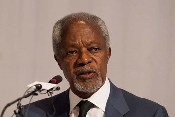 Cựu tổng thư ký LHQ Kofi Annan qua đời ở tuổi 80