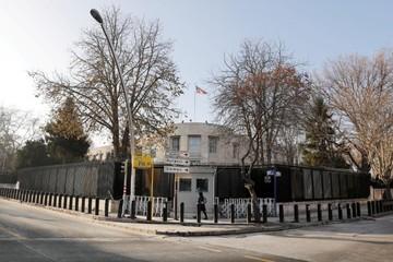 Đại sứ quán Mỹ tại Thổ Nhĩ Kỳ bị tấn công bằng súng