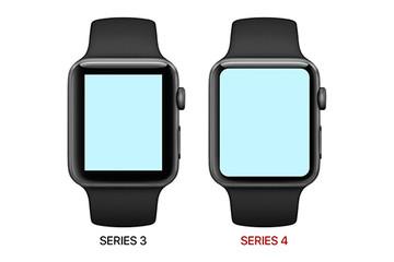 Apple Watch 4 màn hình tràn viền sẽ ra mắt tháng sau