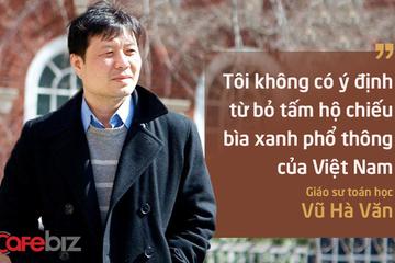 Chân dung Giáo sư Vũ Hà Văn, giám đốc khoa học Viện nghiên cứu Dữ liệu lớn của Vingroup