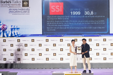 SSI là CTCK duy nhất được vinh danh trong top 40 thương hiệu giá trị nhất Việt Nam