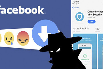 Apple loại ứng dụng bảo mật của Facebook vì thu thập dữ liệu
