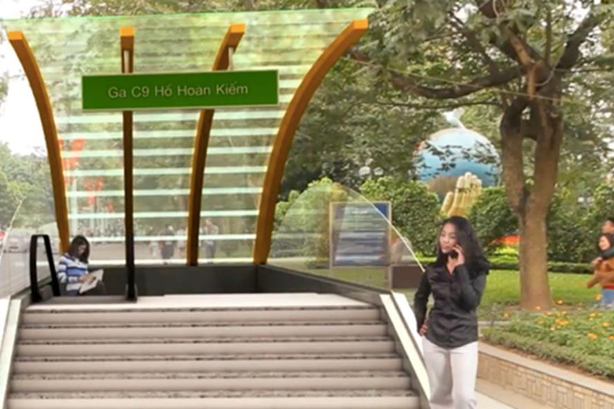 Bộ GTVT: Hà Nội có trách nhiệm tiếp tục nghiên cứu về ga ngầm cạnh Hồ Gươm