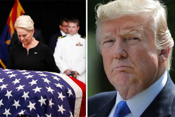 Hiềm khích lẫn nhau, Trump sẽ tới sân golf, không dự lễ tang McCain