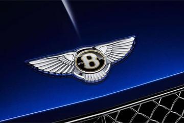 Xe siêu sang Bentley xuất xưởng trong 2019 gắn logo riêng